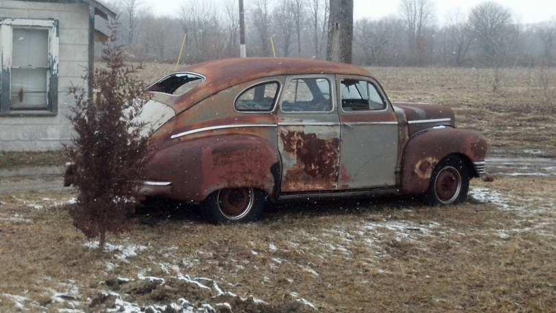 1947 Nash Ambassador Slipstream Sedan